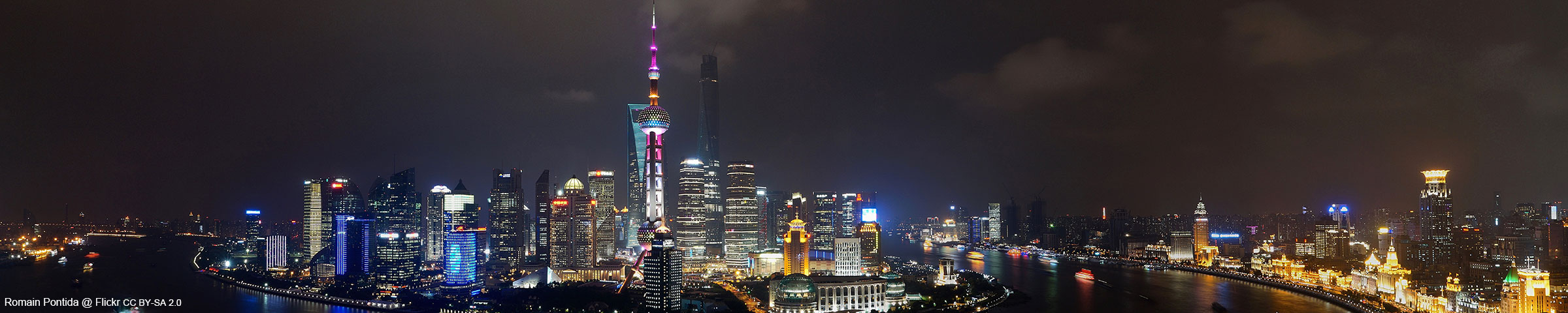 Scenery of Shanghai
